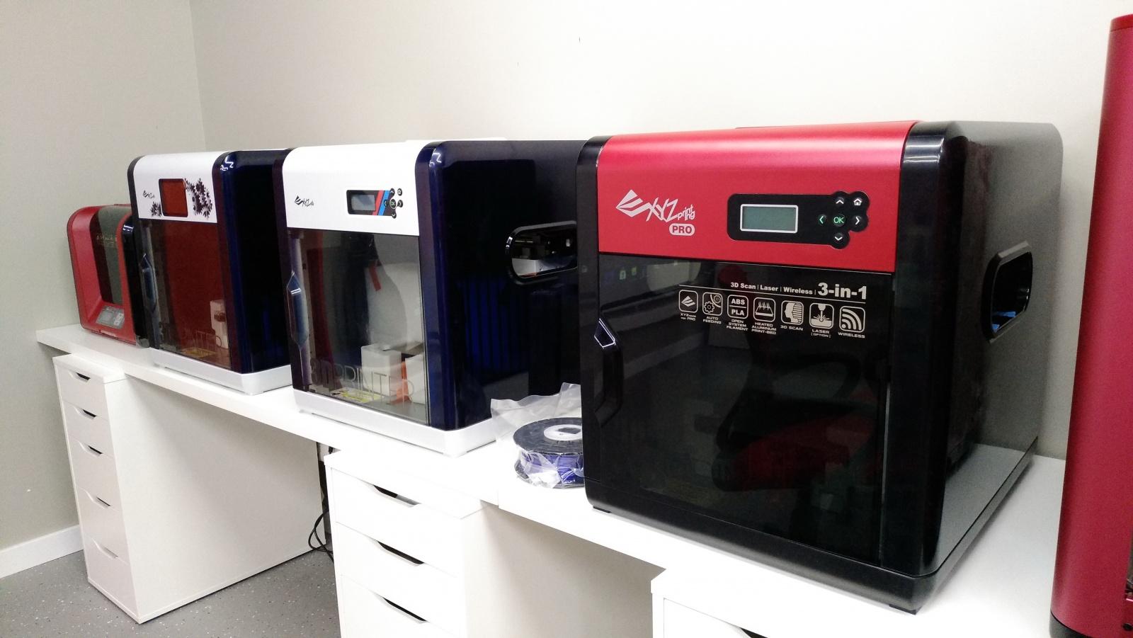 Цветной 3D-принтер Da Vinci. Фоторепортаж с презентации Компании XYZprinting - 4