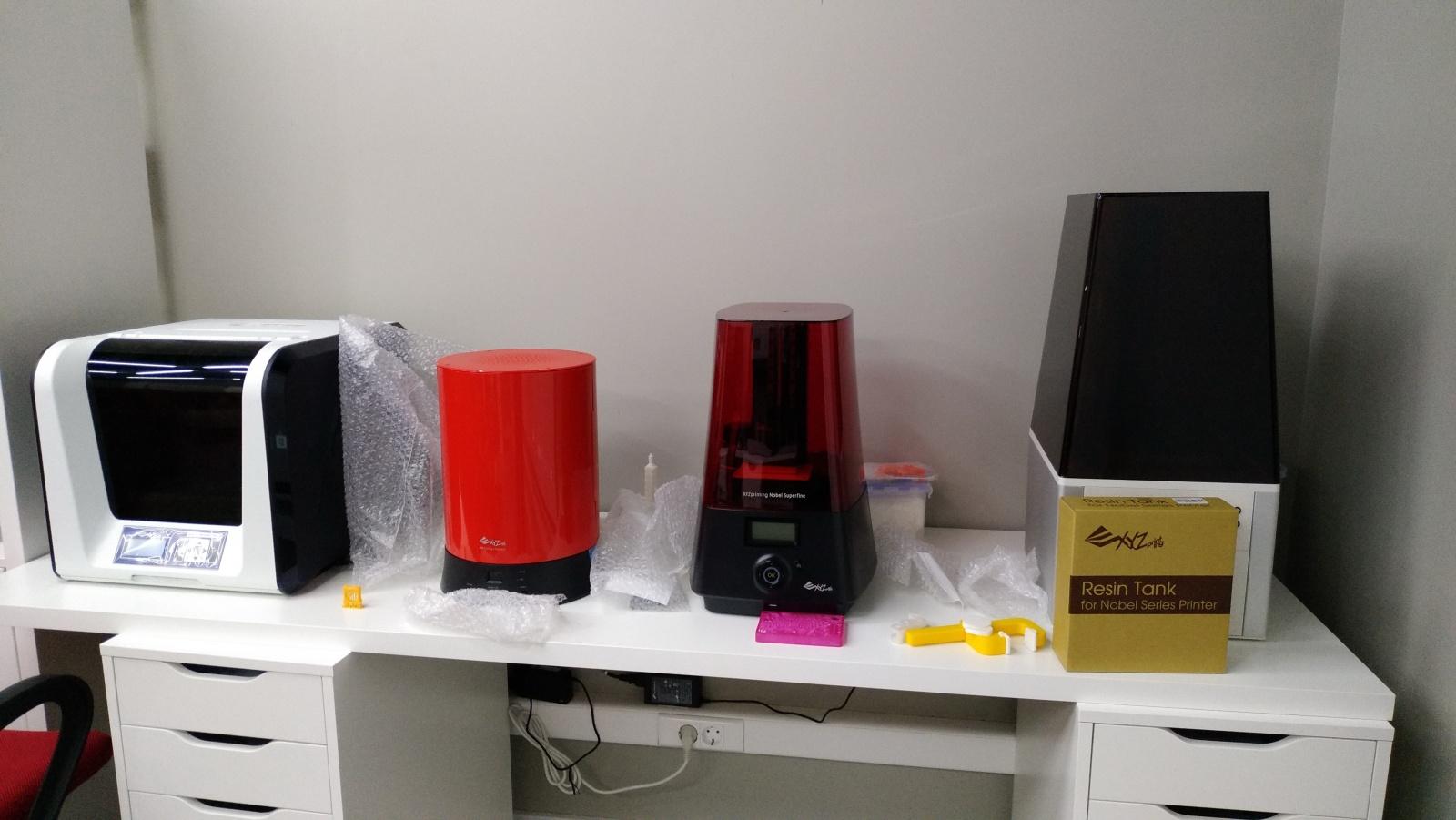 Цветной 3D-принтер Da Vinci. Фоторепортаж с презентации Компании XYZprinting - 5
