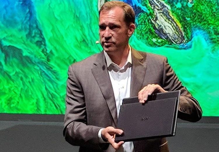 Новый Acer Swift 7 с безрамочным дисплеем — самый тонкий в мире ноутбук