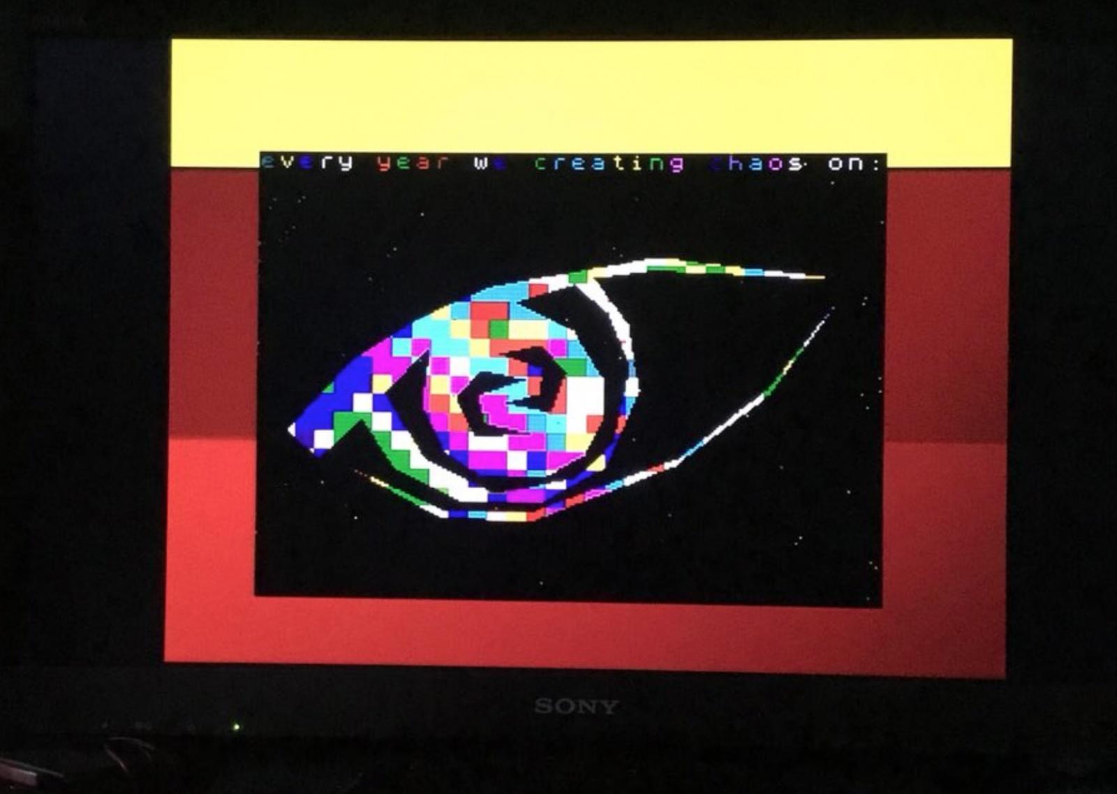 Создание 1k intro Chaos для ZX-Spectrum - 8