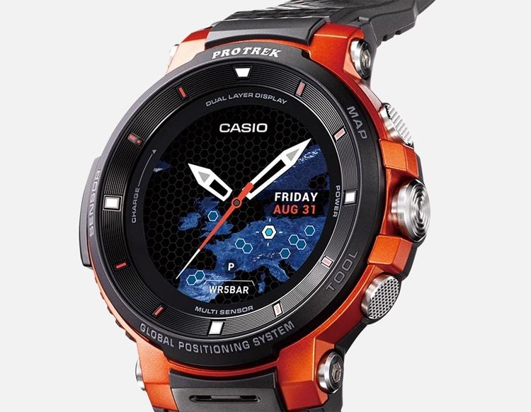 Защищённые смарт-часы Casio Pro Trek WSD-F30 используют платформу Wear OS