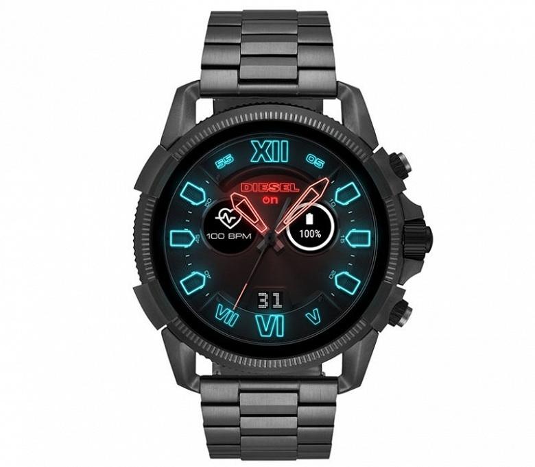 Diesel Full Guard 2.5 — мужские умные часы с Wear OS