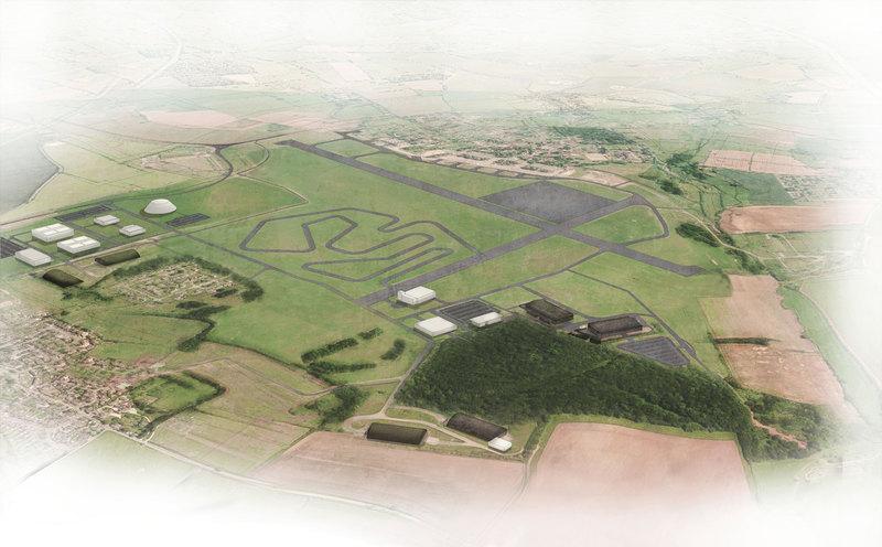 Dyson планирует построить 16 километров тестовых треков для электромобилей