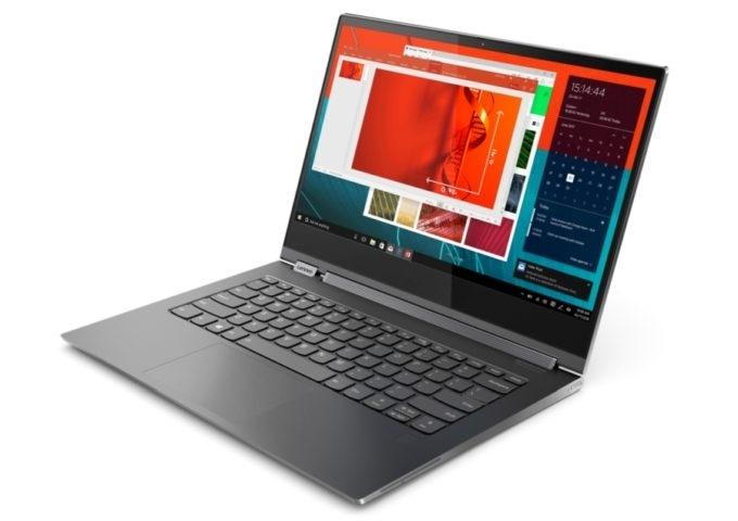 IFA 2018: ноутбук-трансформер Lenovo Yoga C930 со встроенным в шарнир саундбаром