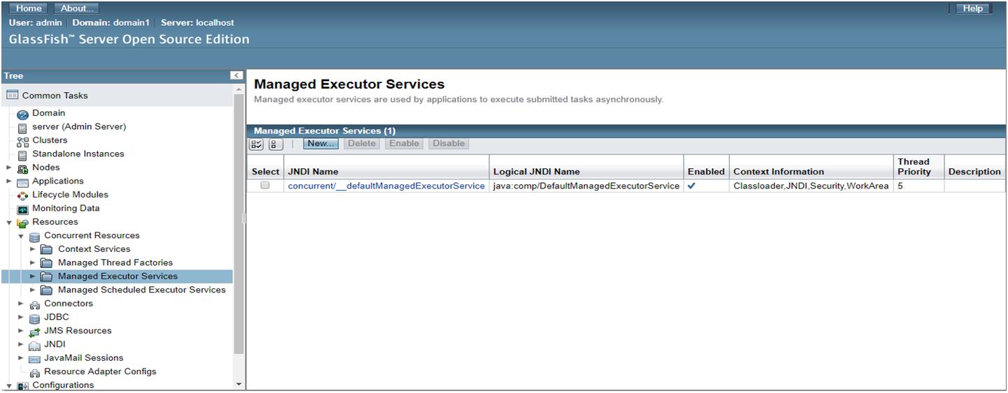 Java EE Concurrency API - 2