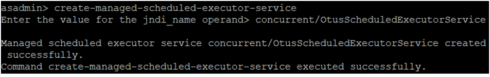 Java EE Concurrency API - 6