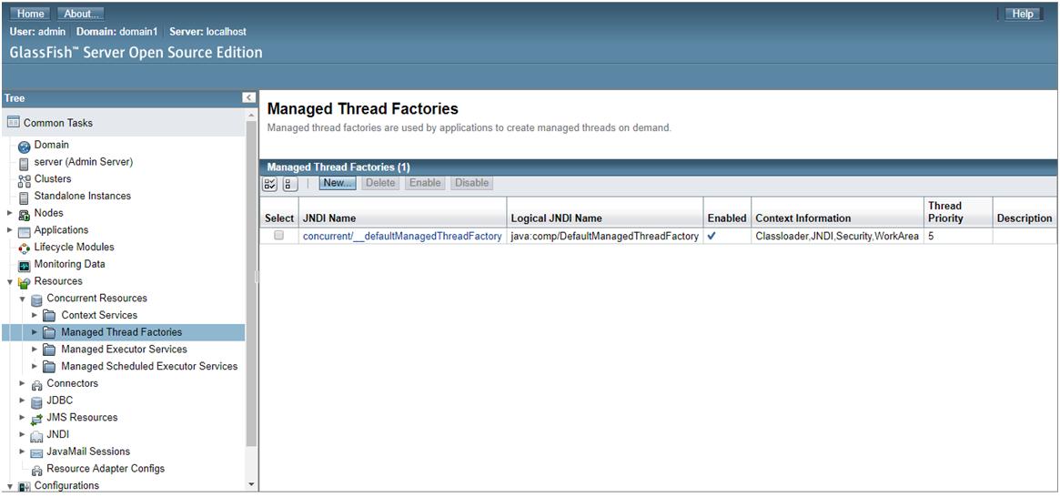 Java EE Concurrency API - 7