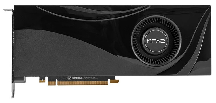 KFA2 порадовала поклонников семью ускорителями GeForce RTX