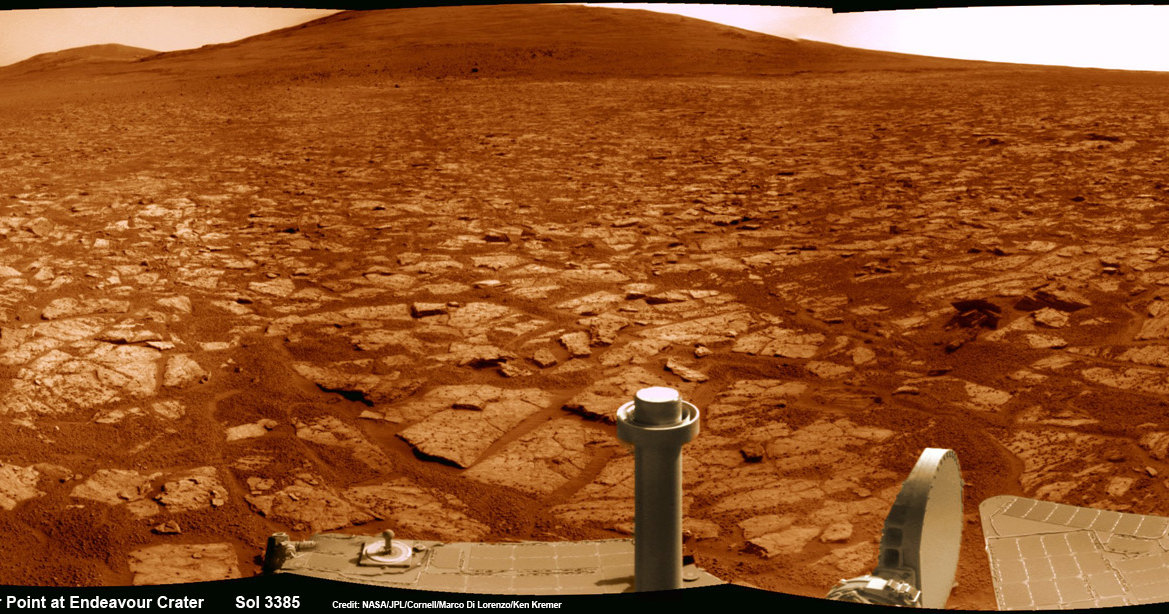 NASA надеется на возобновление связи с Opportunity