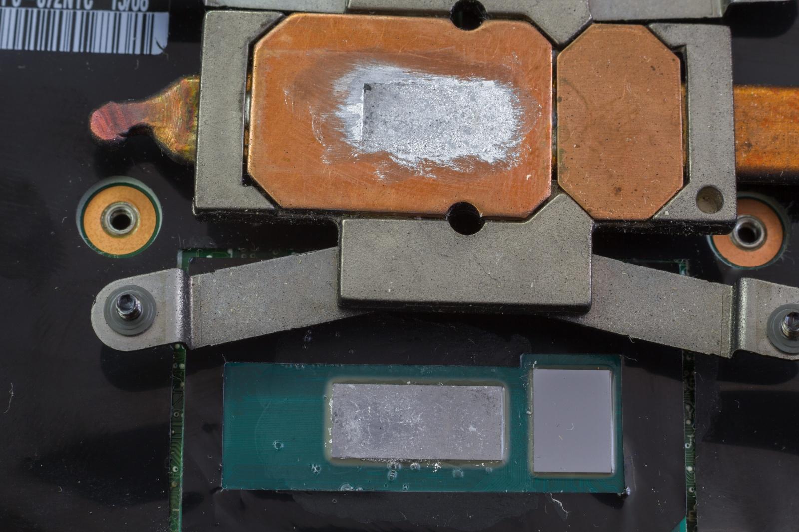 Жидкий металл в ноутбуке спустя полгода - 5