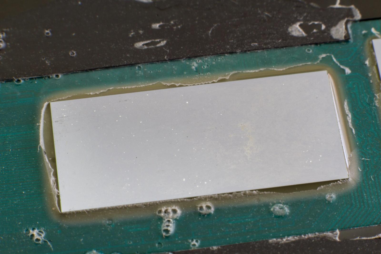 Жидкий металл в ноутбуке спустя полгода - 8