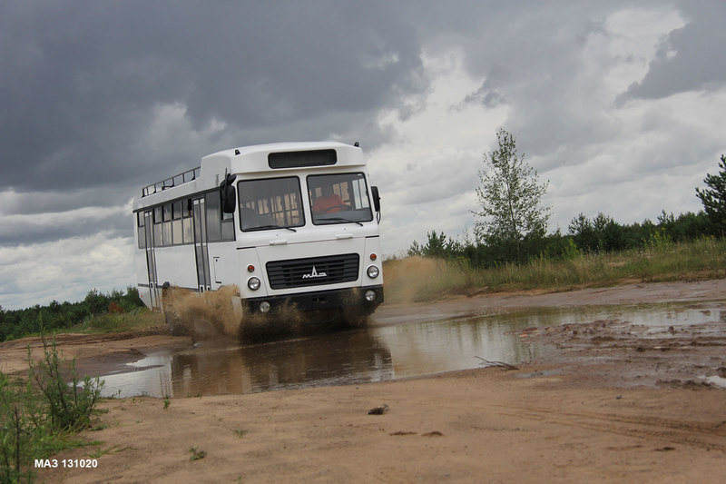 МАЗ снова сделает «самый нестандартный автобус всех времён» - 2