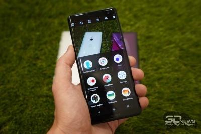Новая статья: Первые впечатления от Sony Xperia XZ3: наконец-то OLED