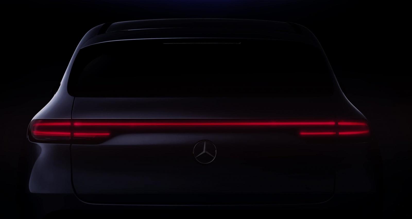 Первый электромобиль Mercedes-Benz: новые тизеры