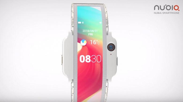 Представлен смартфон со сгибающимся экраном, который выйдет уже в 2018 году