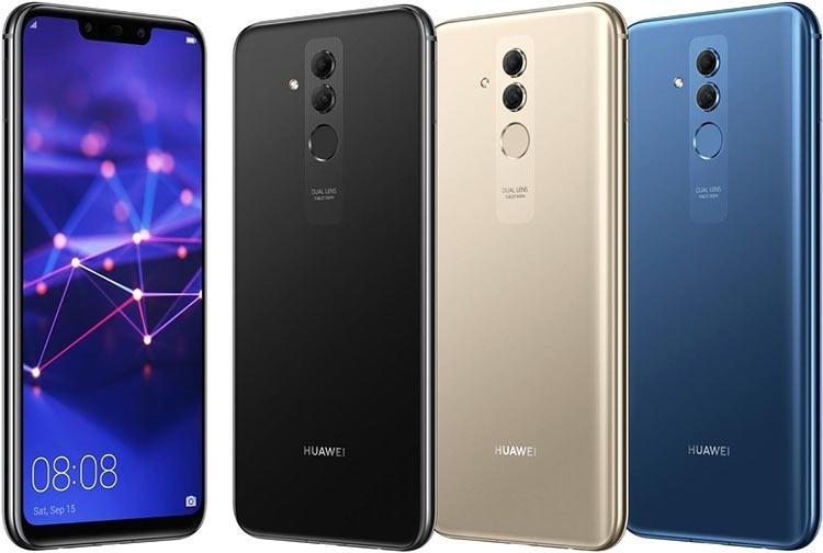 Huawei представила Mate 20 Lite с 6,3-дюймовым дисплеем