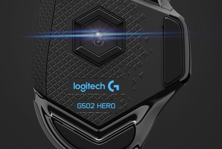 Игровая мышь Logitech G502 HERO получила сенсор на 16 000 DPI