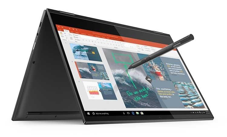 Ноутбук-трансформер Lenovo Yoga C630 WOS протянет от батареи до 25 часов