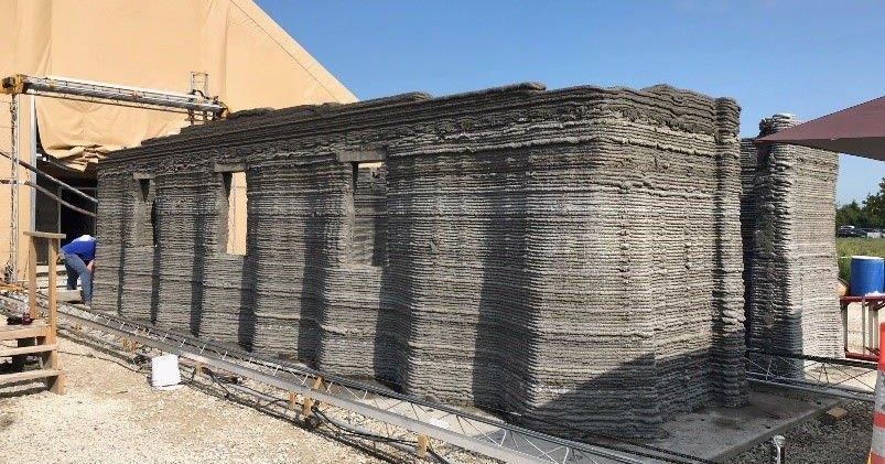 Новые казармы: бетонные бараки, построенные роботами