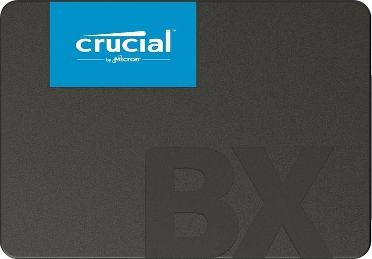 Crucial представила бюджетные твердотельные накопители BX500