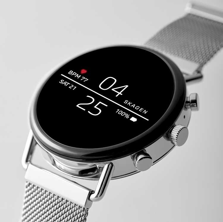 Смарт-часы Skagen Falster 2 получили поддержку NFC, GPS и функцию мониторинга пульса