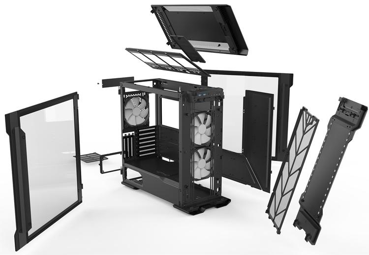 ПК-корпус Phanteks Enthoo Evolv X позволяет применять видеокарты длиной до 435 мм