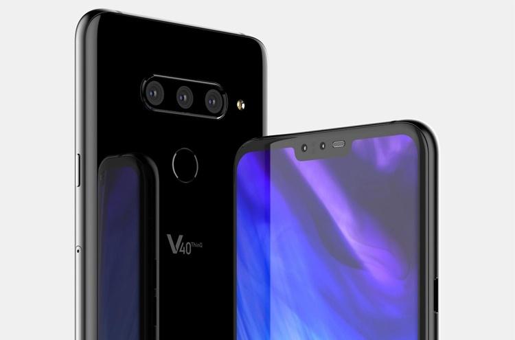 Раскрыто оснащение мощного смартфона LG V40 ThinQ