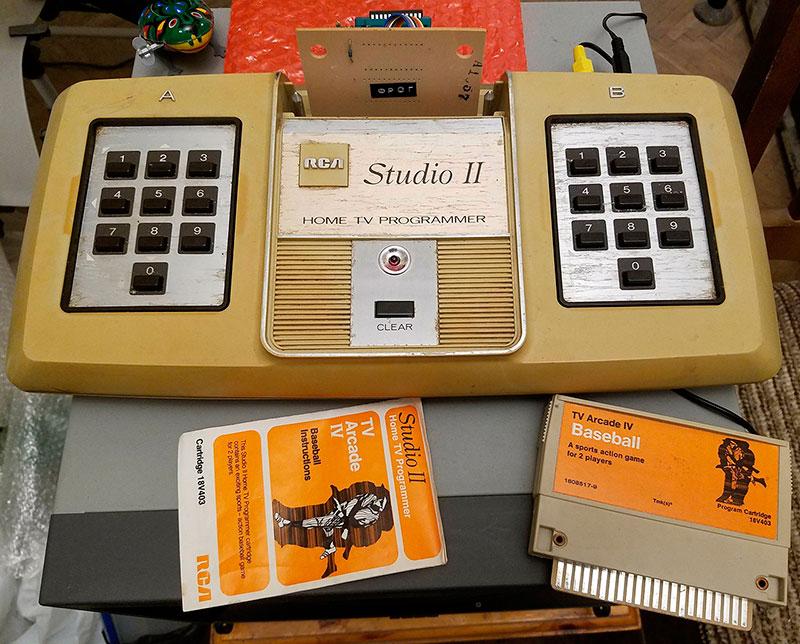 Архитектура и программирование RCA Studio II - 1