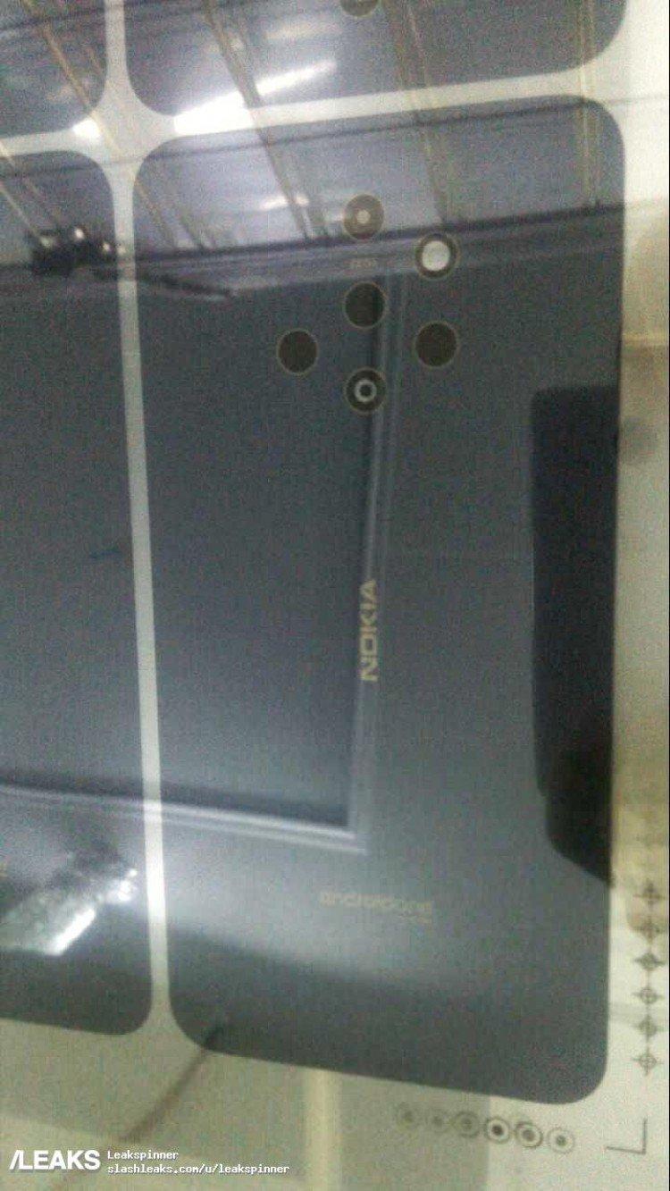Фото дня: смартфон Nokia с многомодульной камерой