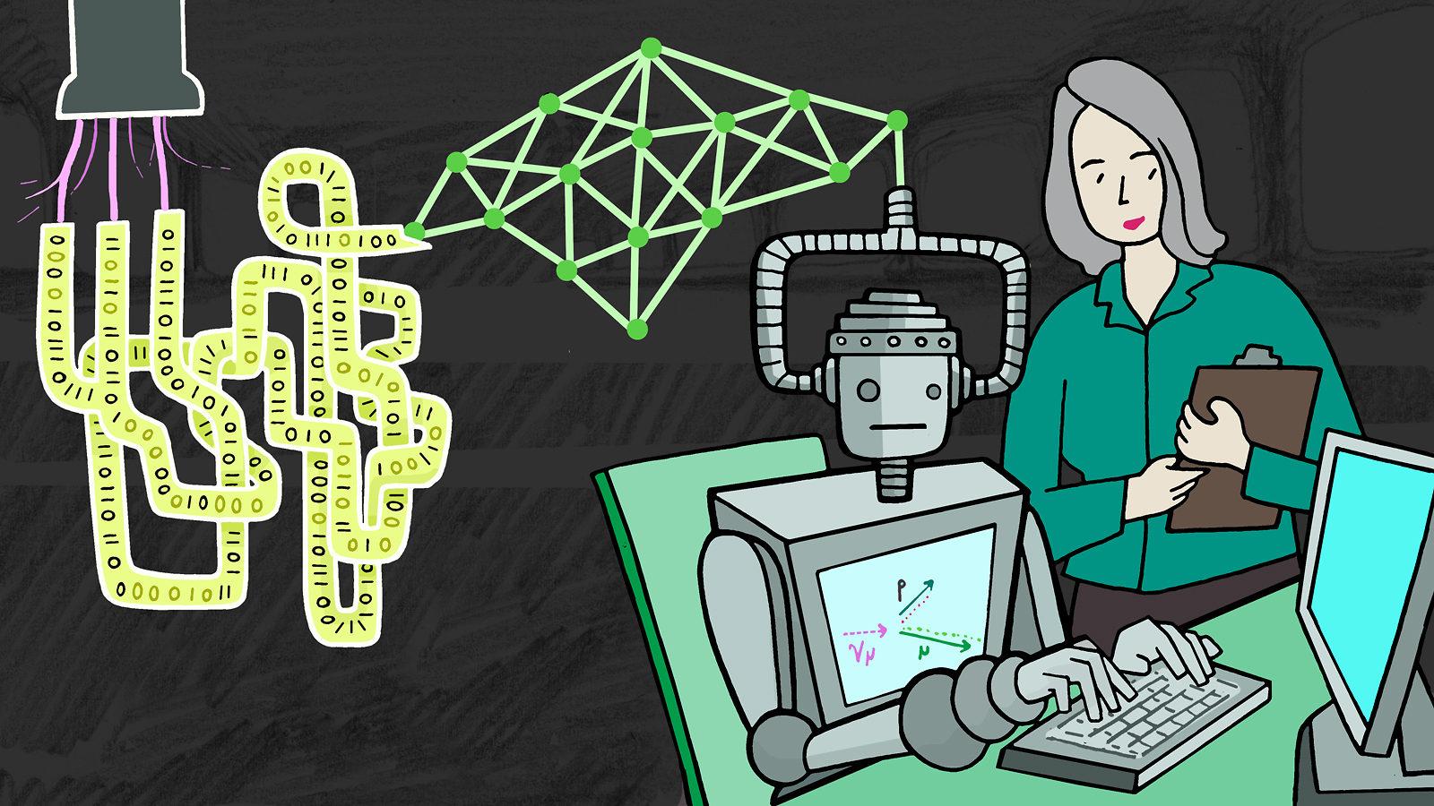 Машинное обучение всё чаще используется в физике частиц - 1