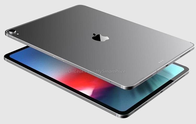 Видео: рендер iPad Pro 12,9 с новым дизайном в стиле iPhone X, но без экранного выреза