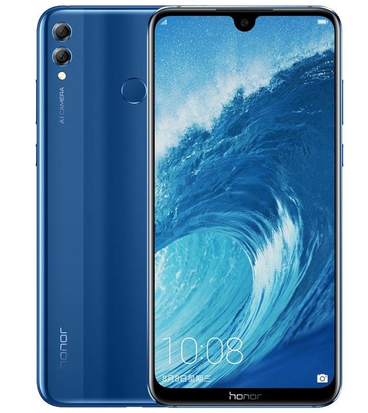 Honor 8X и Honor 8X Max: большие смартфоны с экраном Full HD+