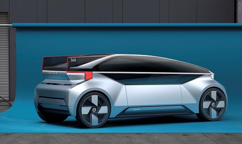 Volvo показала беспилотник будущего, в котором можно жить - 2