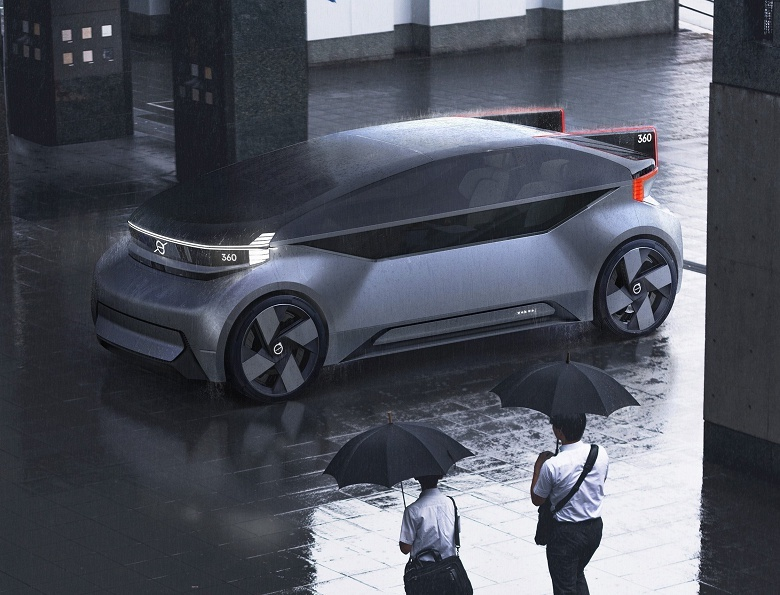 Volvo показала беспилотник будущего, в котором можно жить - 4