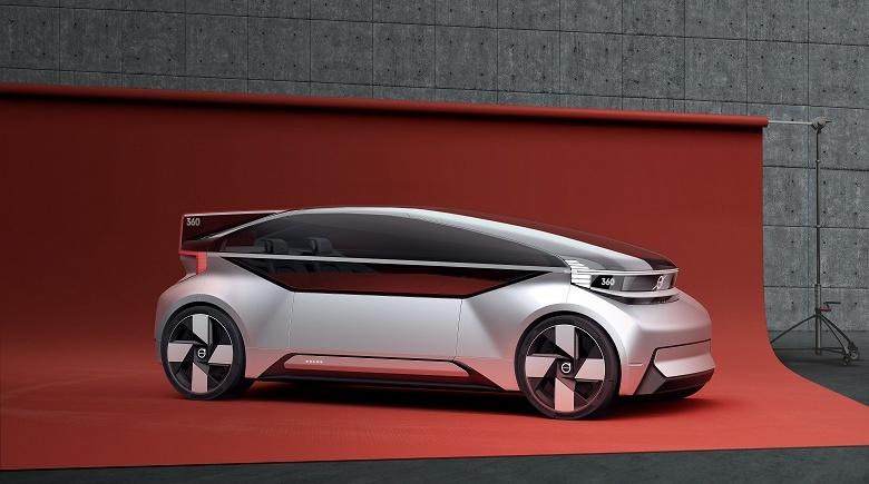 Volvo показала беспилотник будущего, в котором можно жить - 1