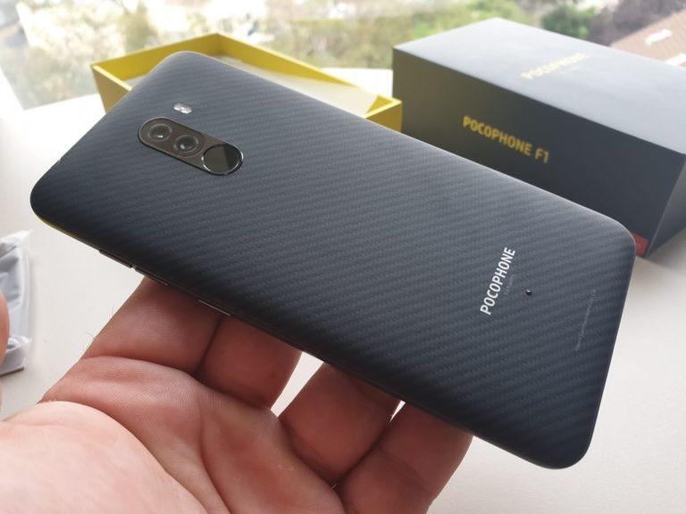 Кевларовый смартфон Xiaomi Pocophone F1 поступил в продажу - 1