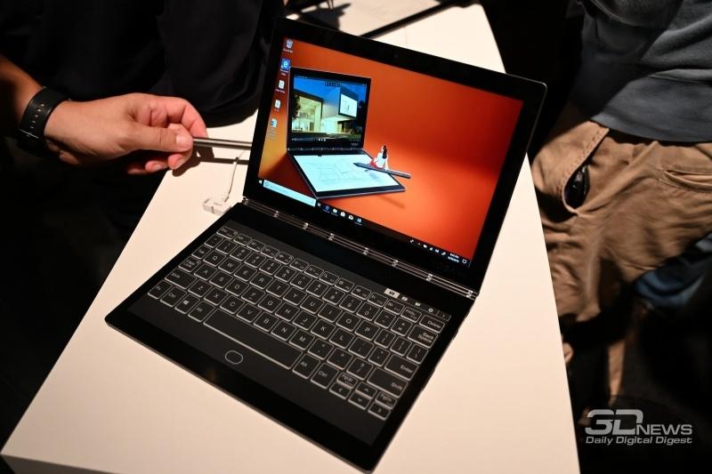 Новая статья: IFA 2018: ноутбук с электронной бумагой, X1 Extreme, меч Кайло Рена и другие новинки Lenovo