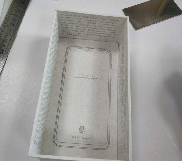 Упаковка раскрыла особенности смартфона OnePlus 6T