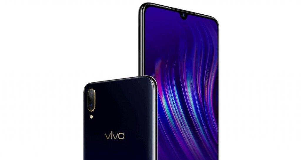 Анонсирован Vivo V11: каплевидный «вырез» и сканер отпечатков пальцев в дисплее