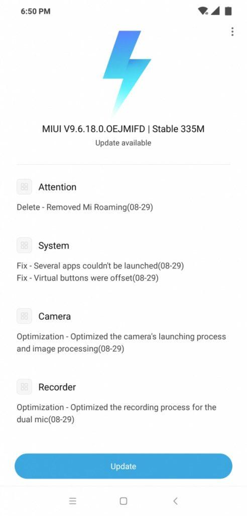 Дешёвый флагман Xiaomi Pocophone F1 получил первое обновление - 2