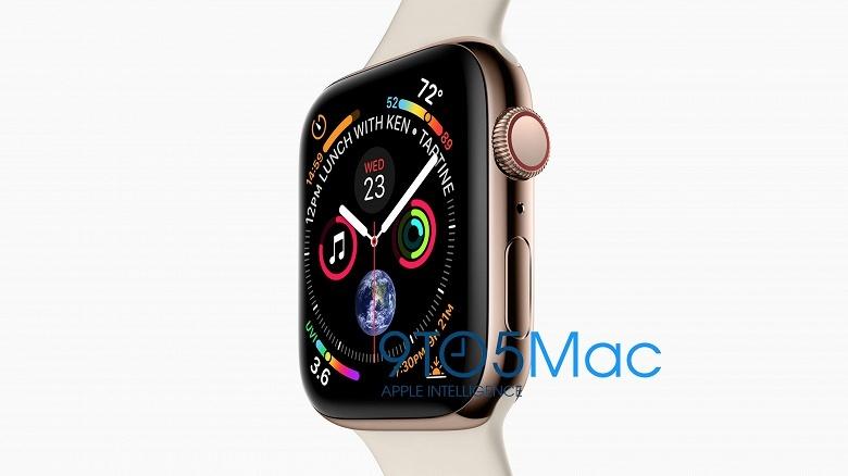 Умные часы Apple Watch Series 4 получат повышенное разрешение экрана - 1