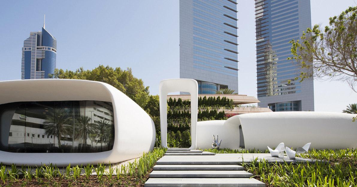 Через семь лет новостройки Дубая будут на 25% напечатаны