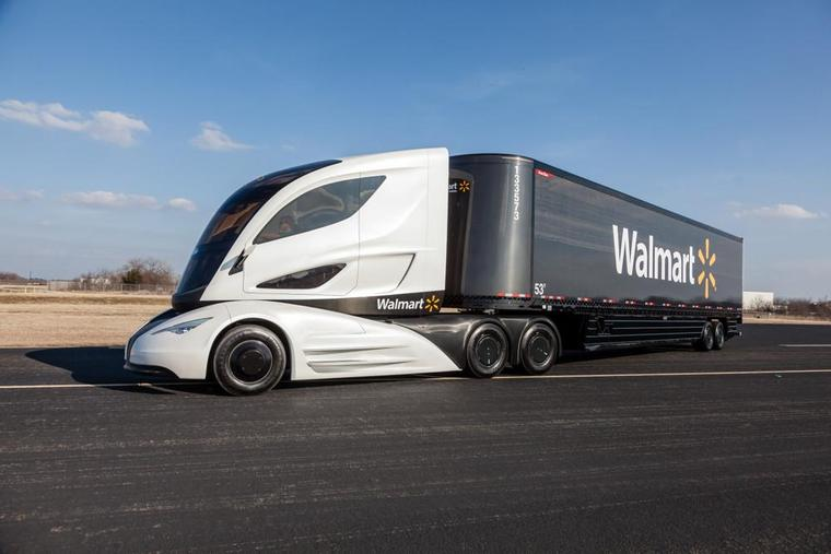 Walmart заказала еще 30 электрических грузовиков Tesla Semi