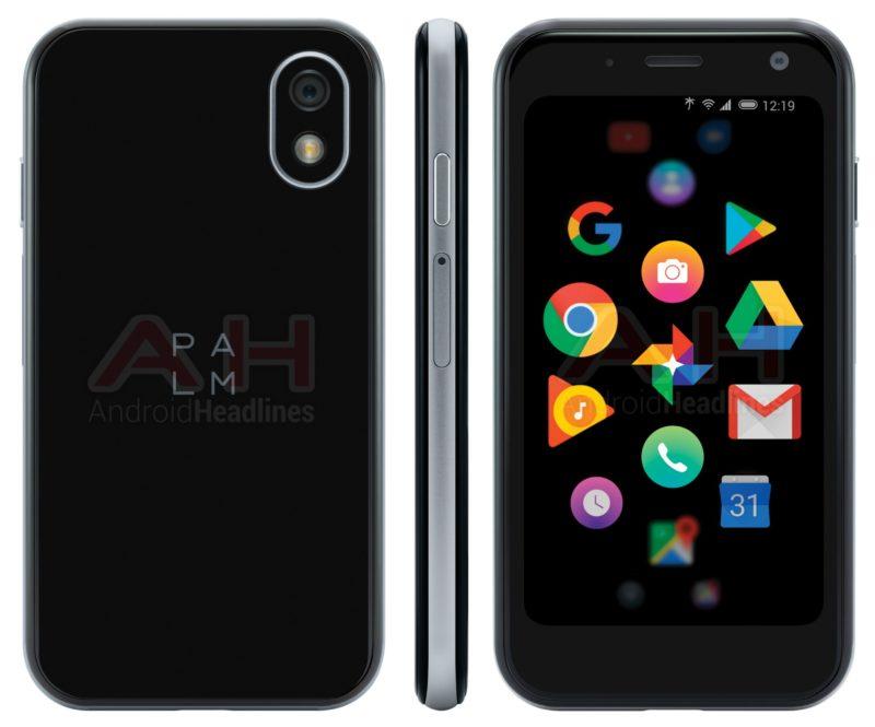 Новый смартфон Palm показали на рендере