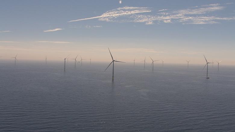 В Англии запущена крупнейшая оффшорная ветряная электростанция мощностью 659 МВт