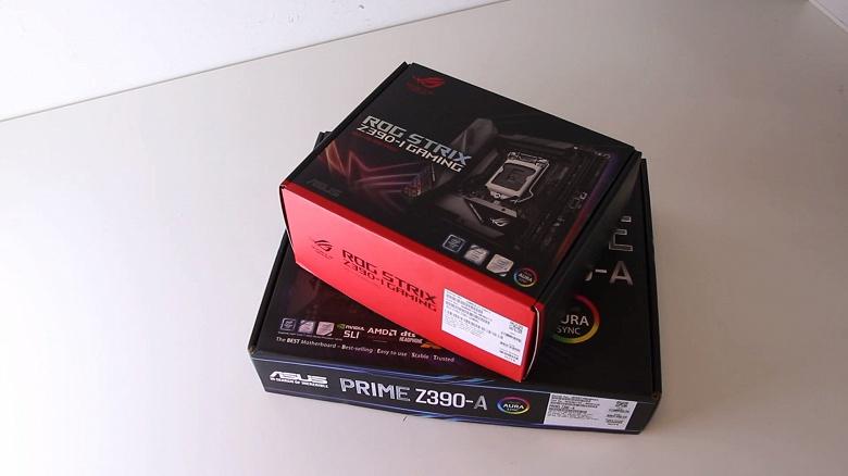 Asus ROG Strix Z390-I и Prime Z390-A