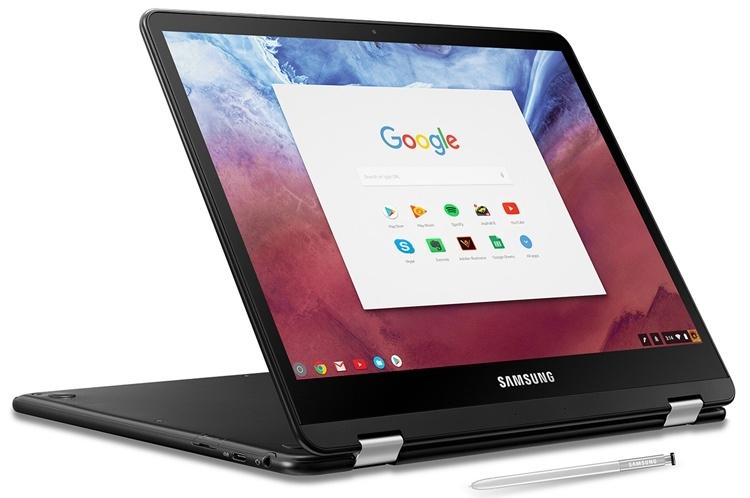 Samsung проектирует загадочный ноутбук на базе Chrome OS