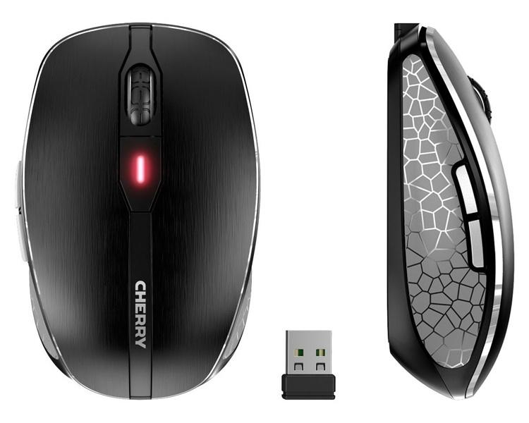 Беспроводная мышь Cherry MW 8 Advanced использует два способа подключения