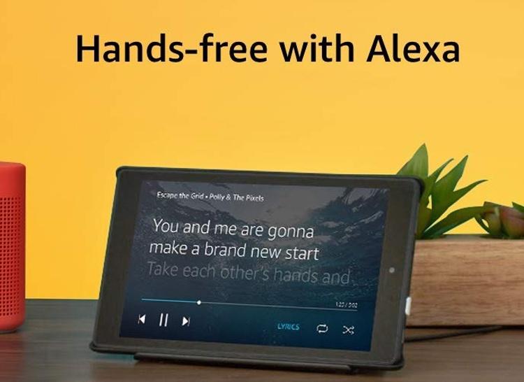 Новый планшет Amazon Fire HD 8 стоит $80