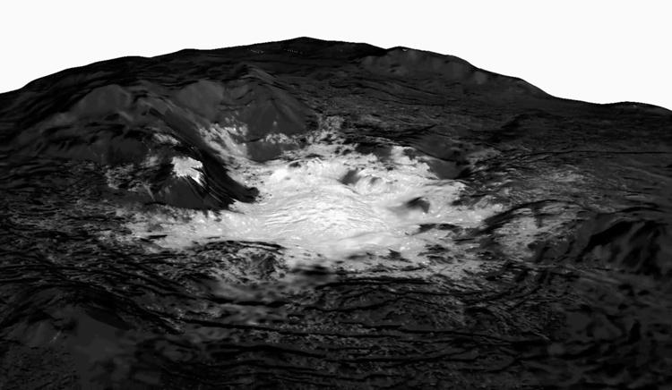Фото дня: «факула Цереалий» на поверхности Цереры
